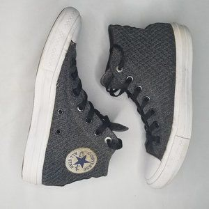 CONVERSE Chuck Taylor gray high top sneakers